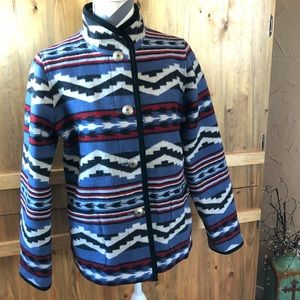 STUNNING Pendleton Aztec Tribal Jacket Blazer Coat